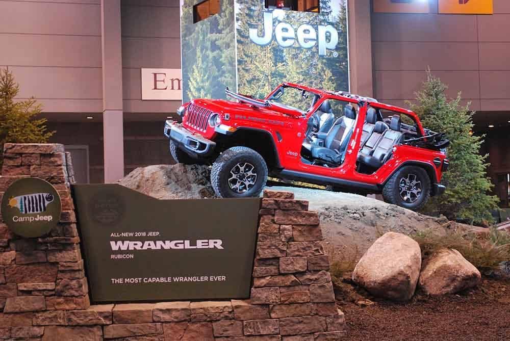 Chicago Auto Show Highlights Zeigler Chrysler Dodge Jeep Ram Of - Jeep car show near me