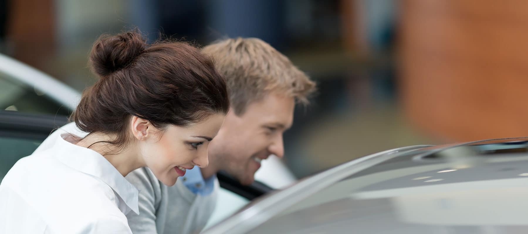Couple Car Buying
