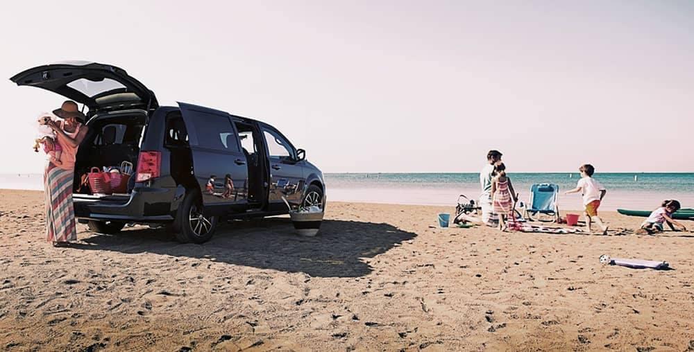 2018 Dodge Grand Caravan At Beach