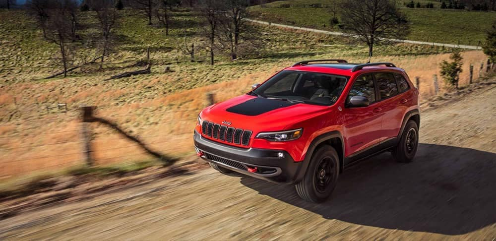 2019 Jeep Cherokee Red