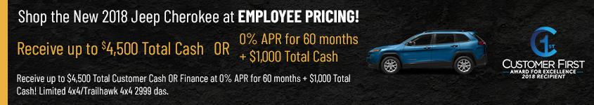 March 2018 Cherokee Finance Offer