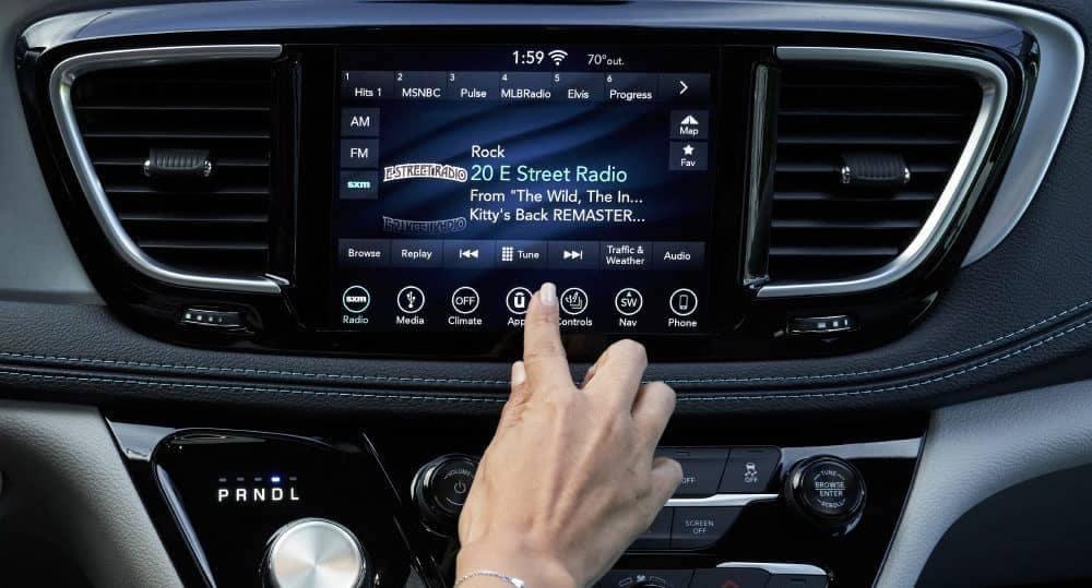 2018 Chrysler Pacifica Touchscreen