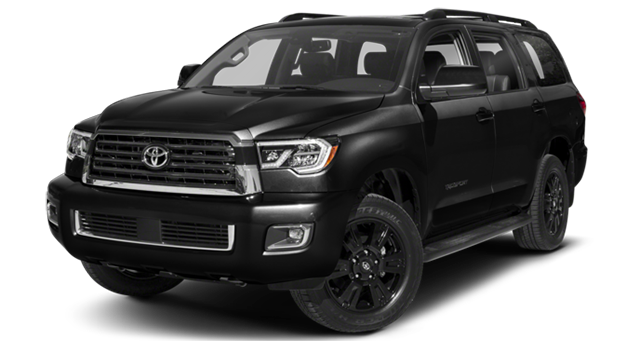 2018 Toyota Sequoia Black