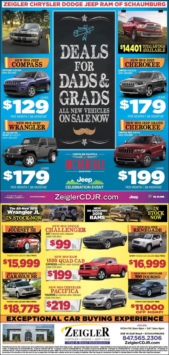 Deals for Dads and Grads