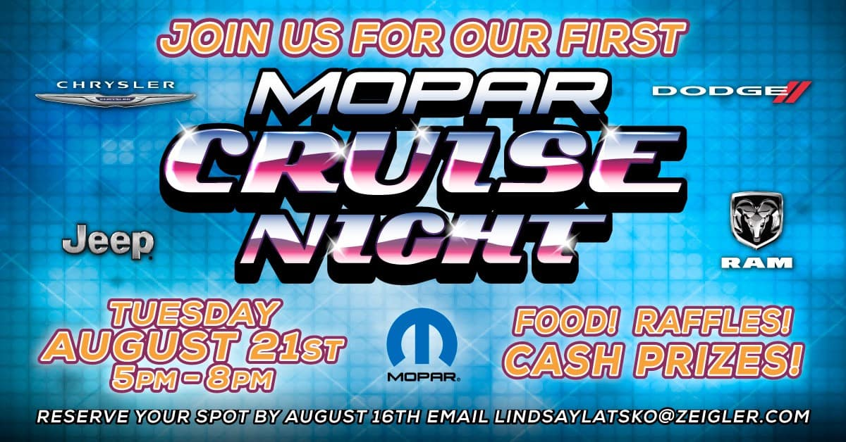 Mopar Cruise Nights