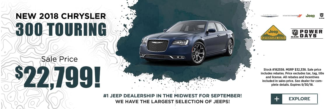 2018 Chrysler 300 Touring Special
