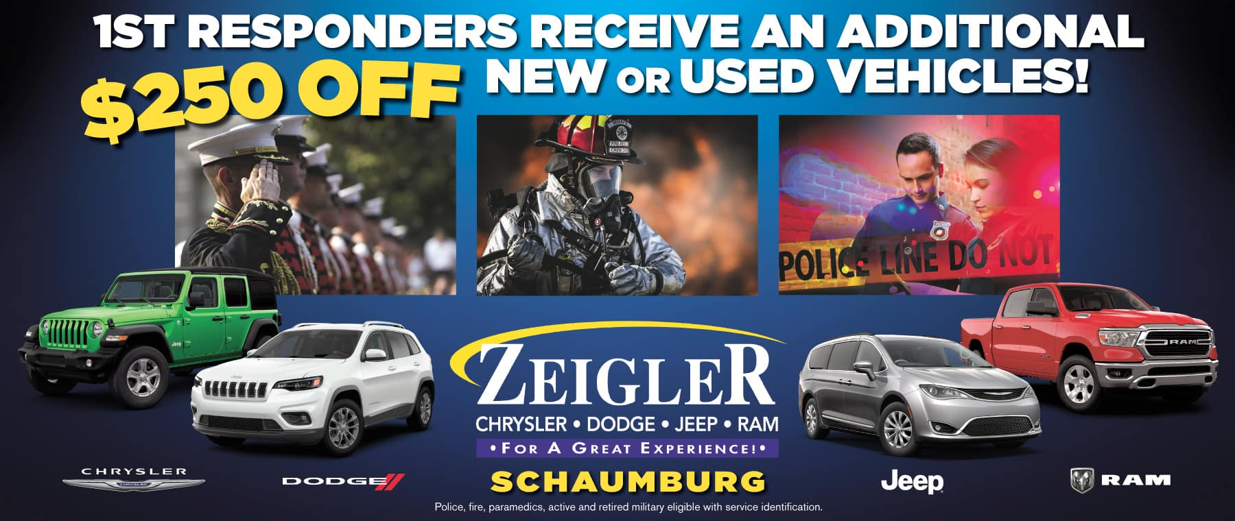 First Responder Discount Chrysler Dodge Jeep Ram