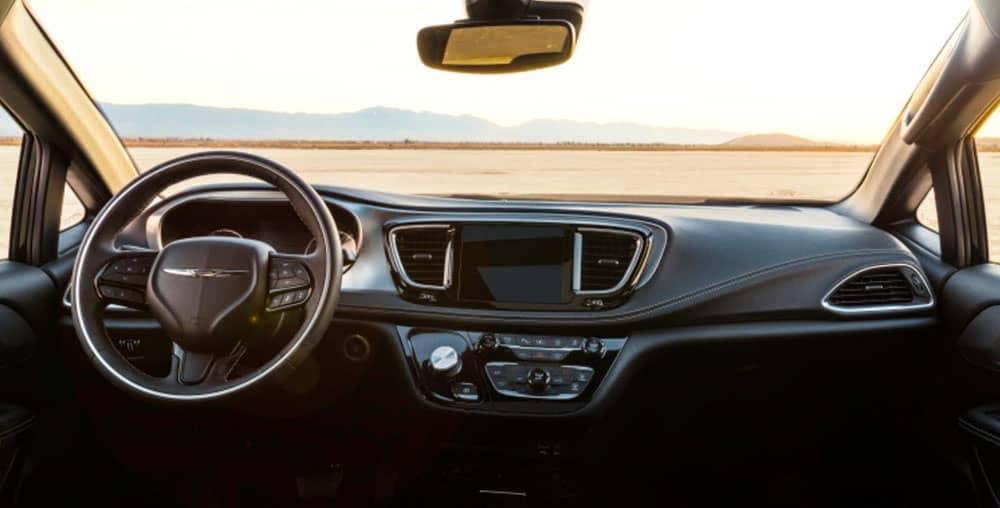 2019 Chrysler Pacifica dashboard