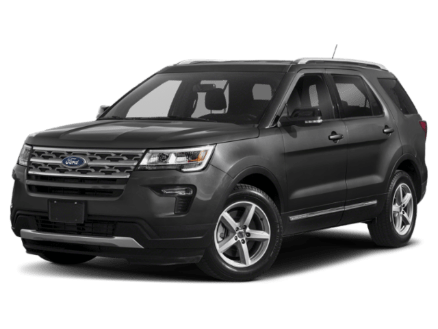 2019 Ford Explorer in charcoal