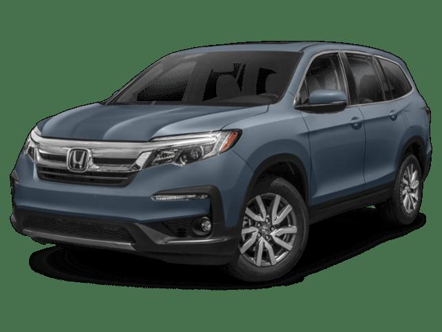 2019 Honda Pilot in grey blue