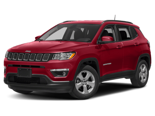 2019 Jeep Compass in red