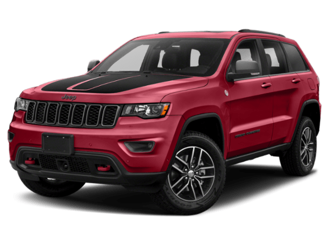 2019 Jeep Grand Cherokee Trailhawk in red