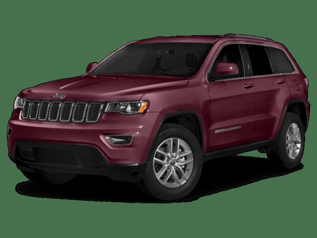 2019 Jeep Grand Cherokee in burgundy