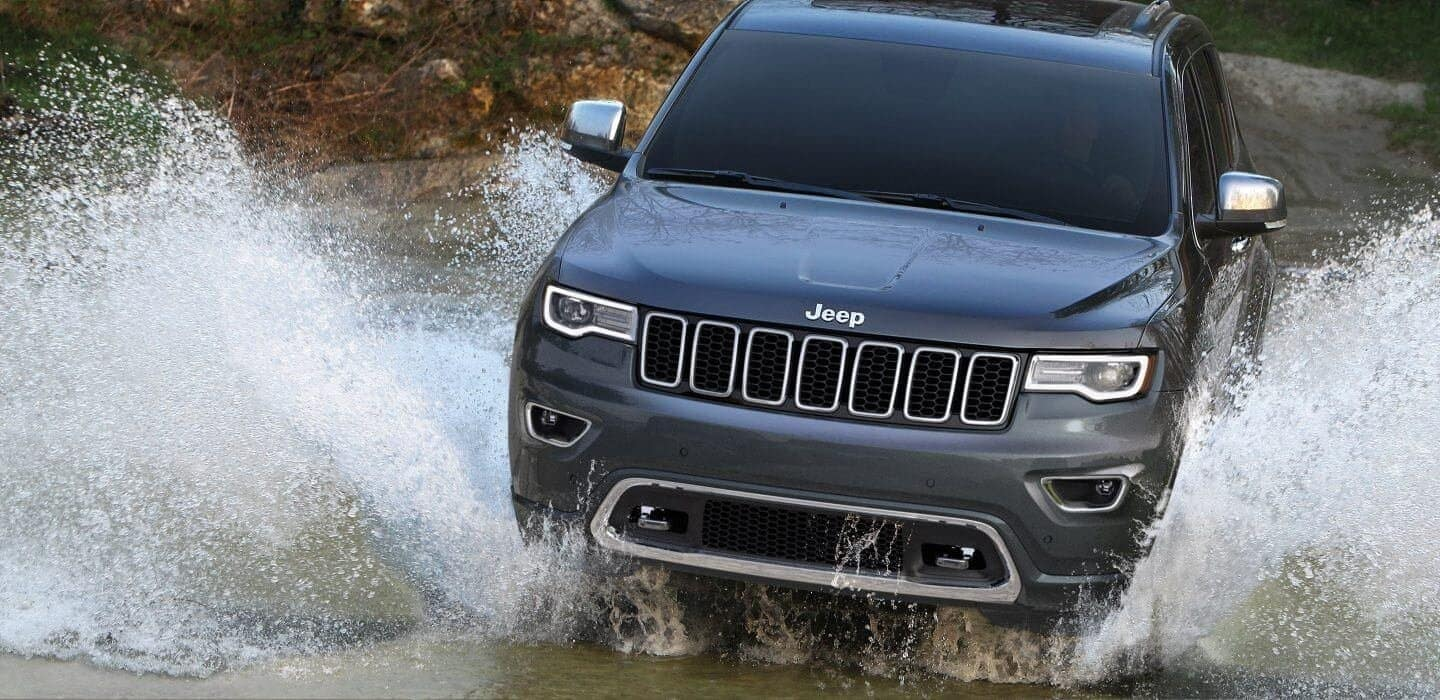 2019 Jeep Grand Cherokee performance in water off roading