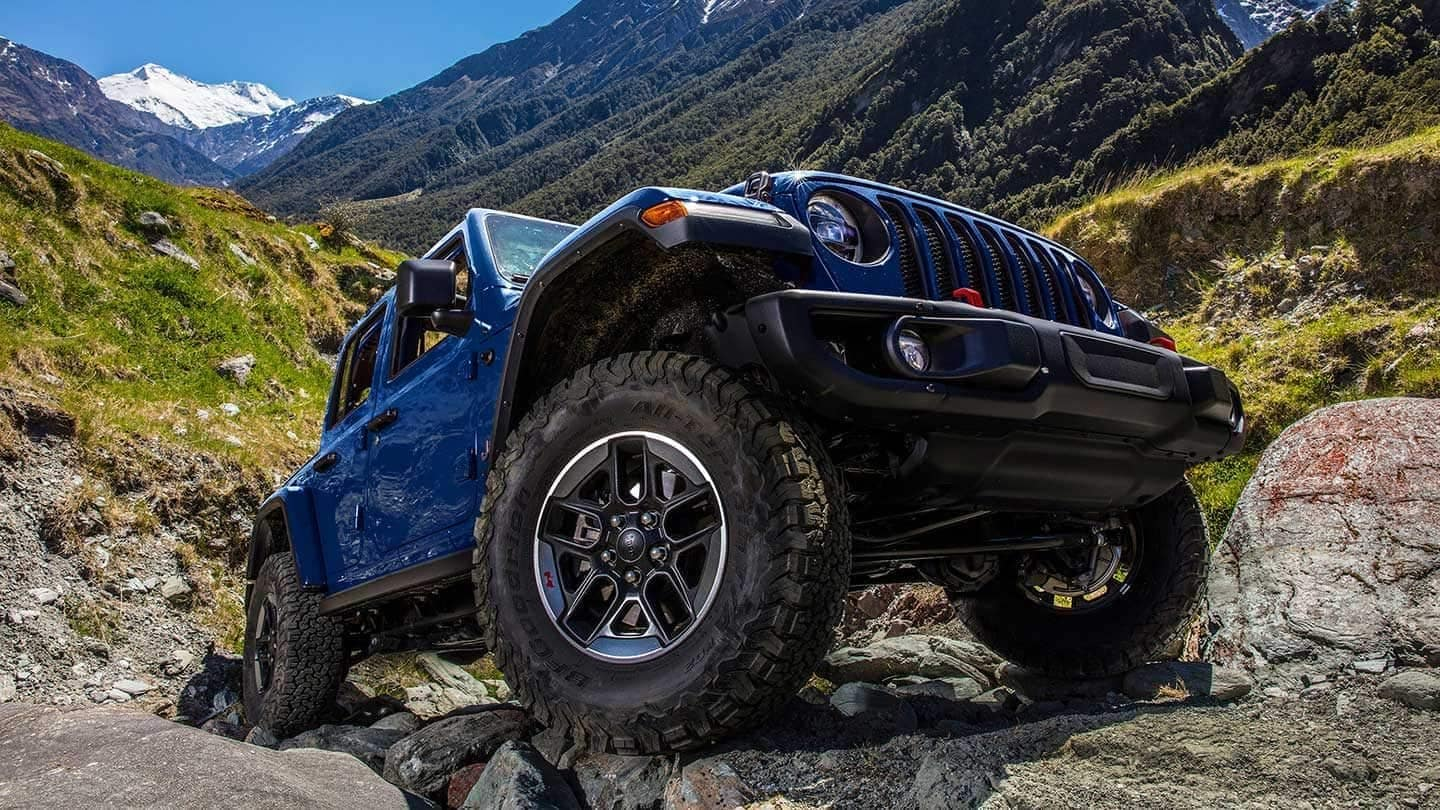 2019 Jeep Wrangler rugged performance