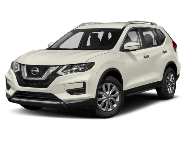 2019 Nissan Rogue in white