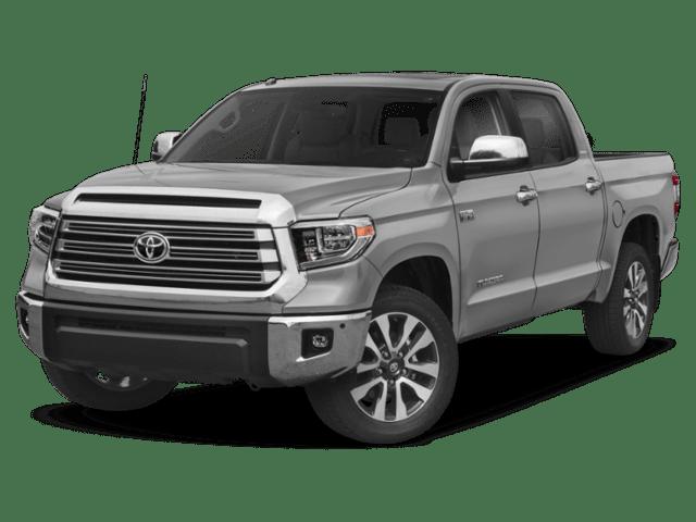 2019 Toyota Tundra in silver