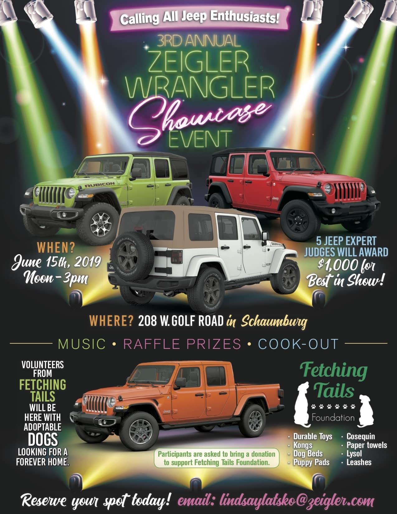 Wrangler Showcase Event