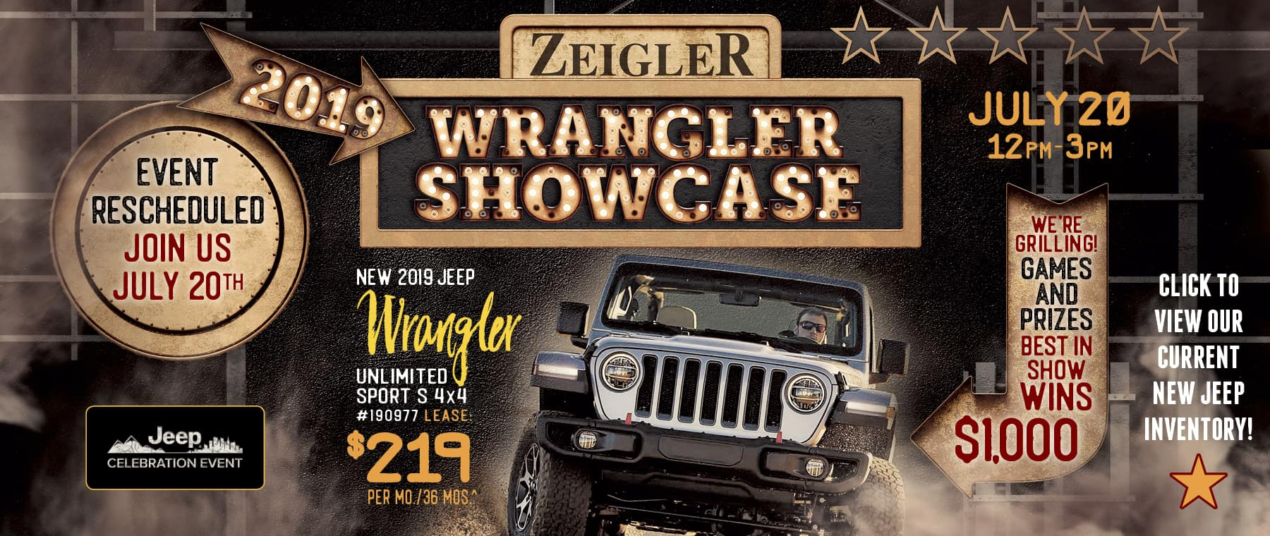 wrangler showcase
