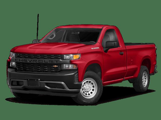 2019 Chevrolet Silverado 1500 in red