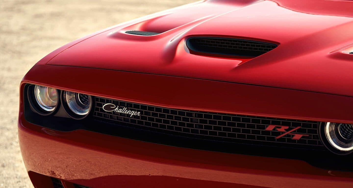 2019 Dodge Challenger RT exterior grille close up