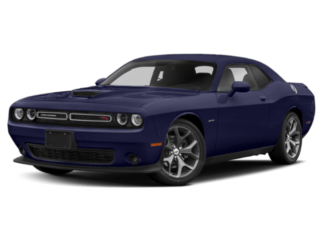 2019 Dodge Challenger in blue