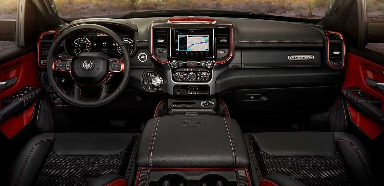 2019 RAM 1500 Rebel edition interior