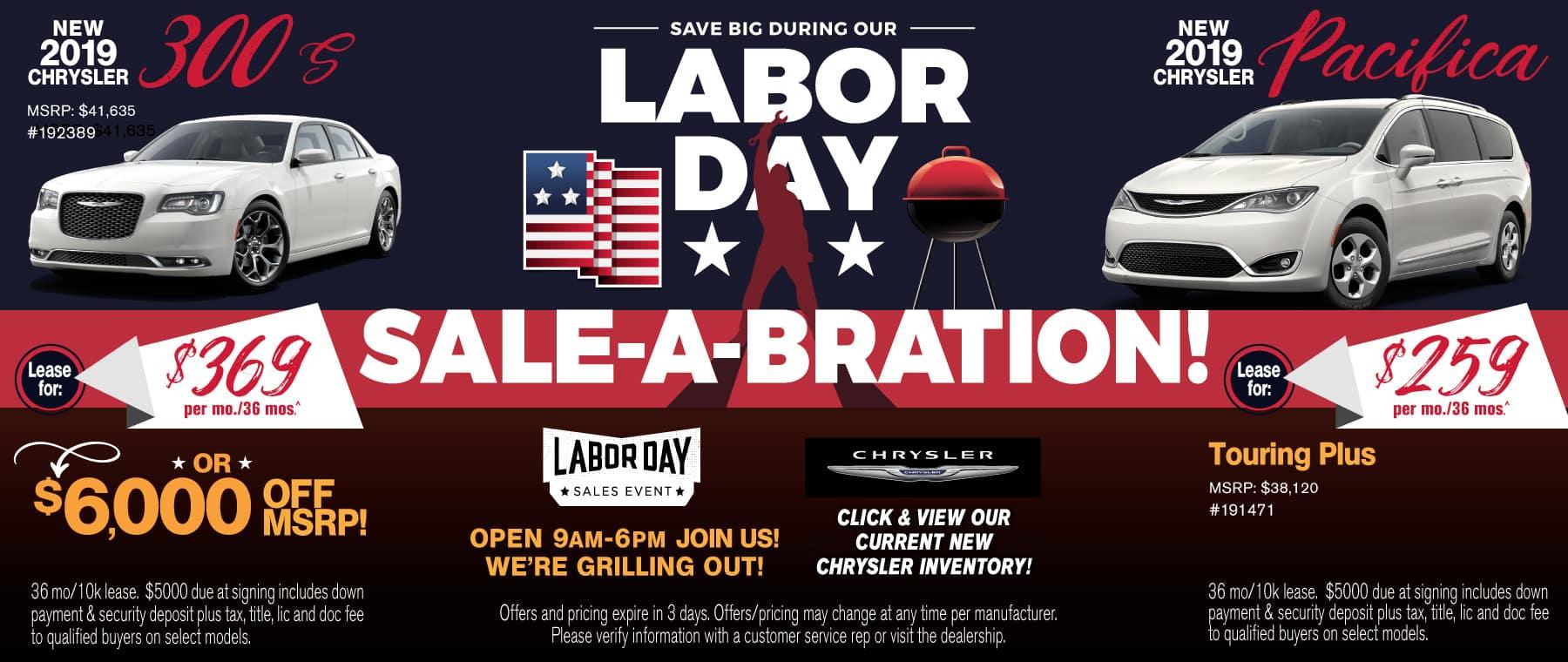 Labor Day Chrysler