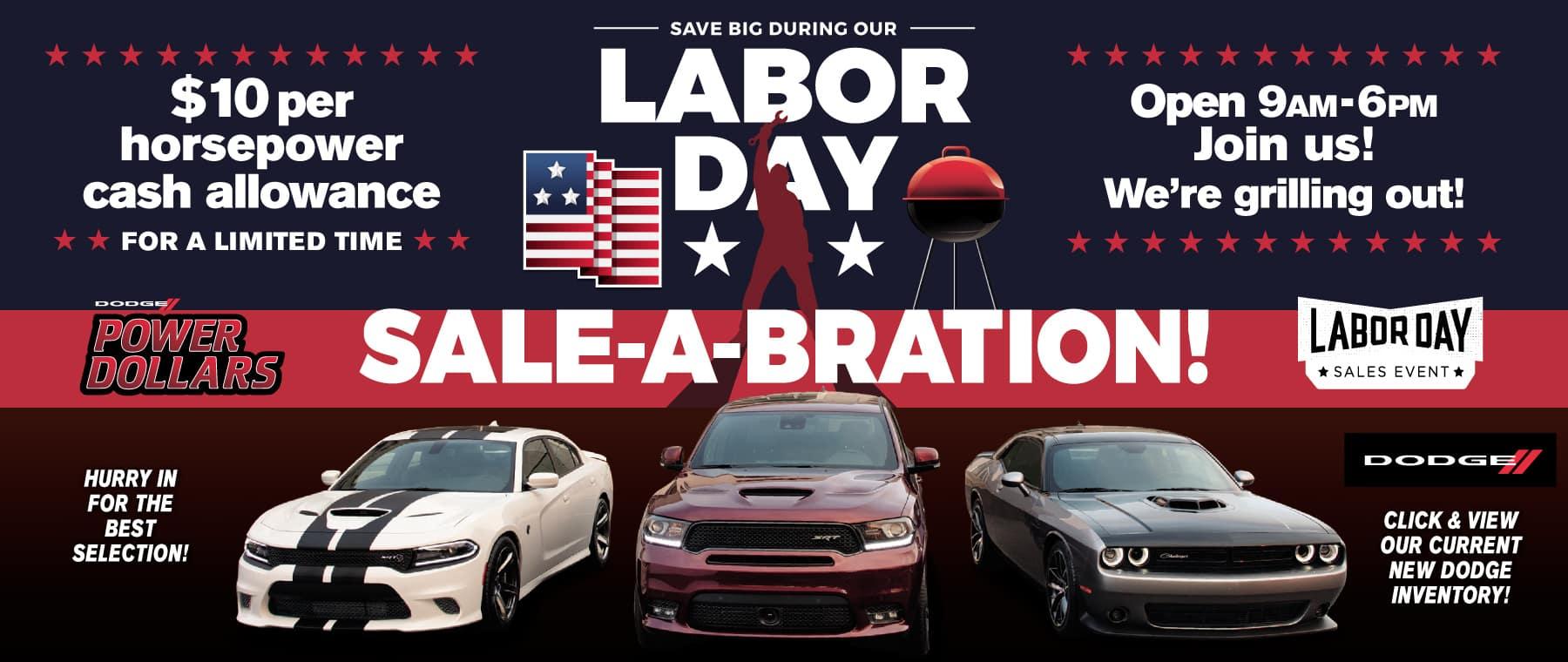 Labor Day Dodge
