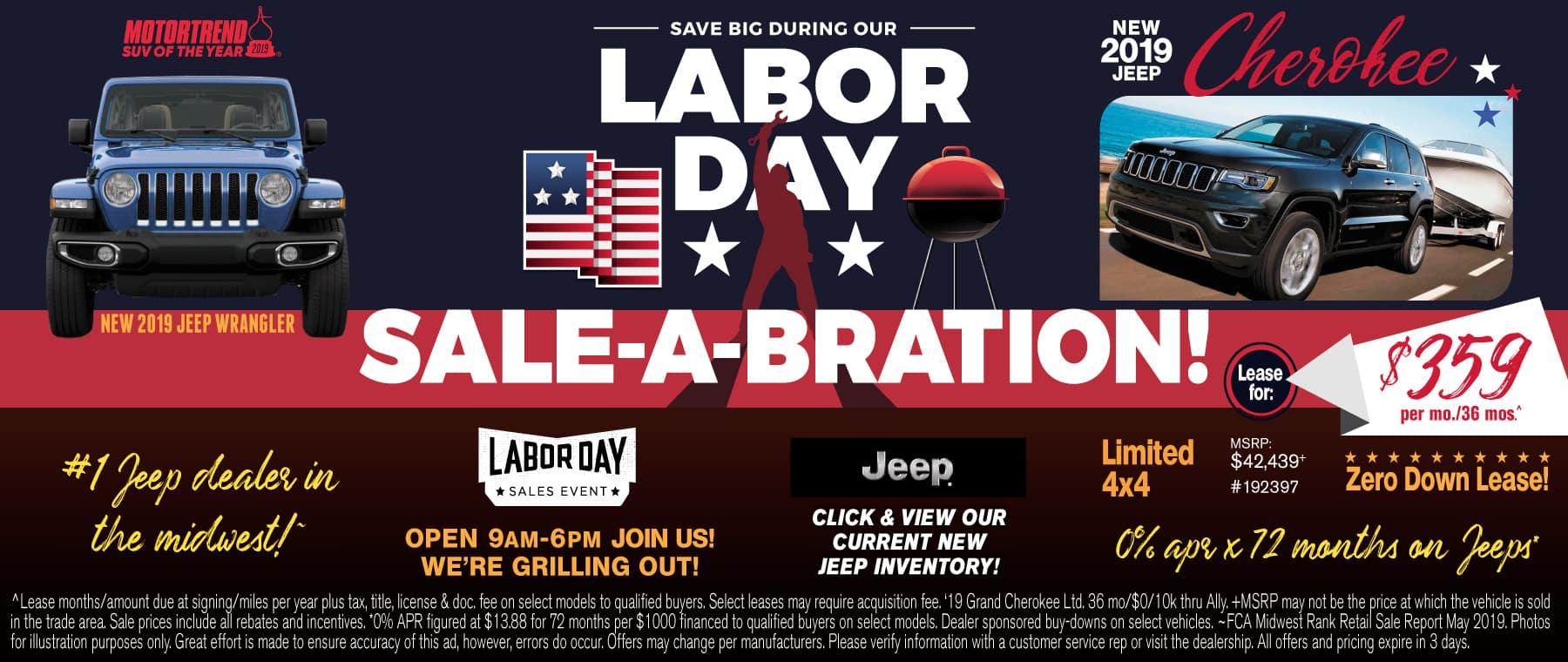 Labor Day Jeep