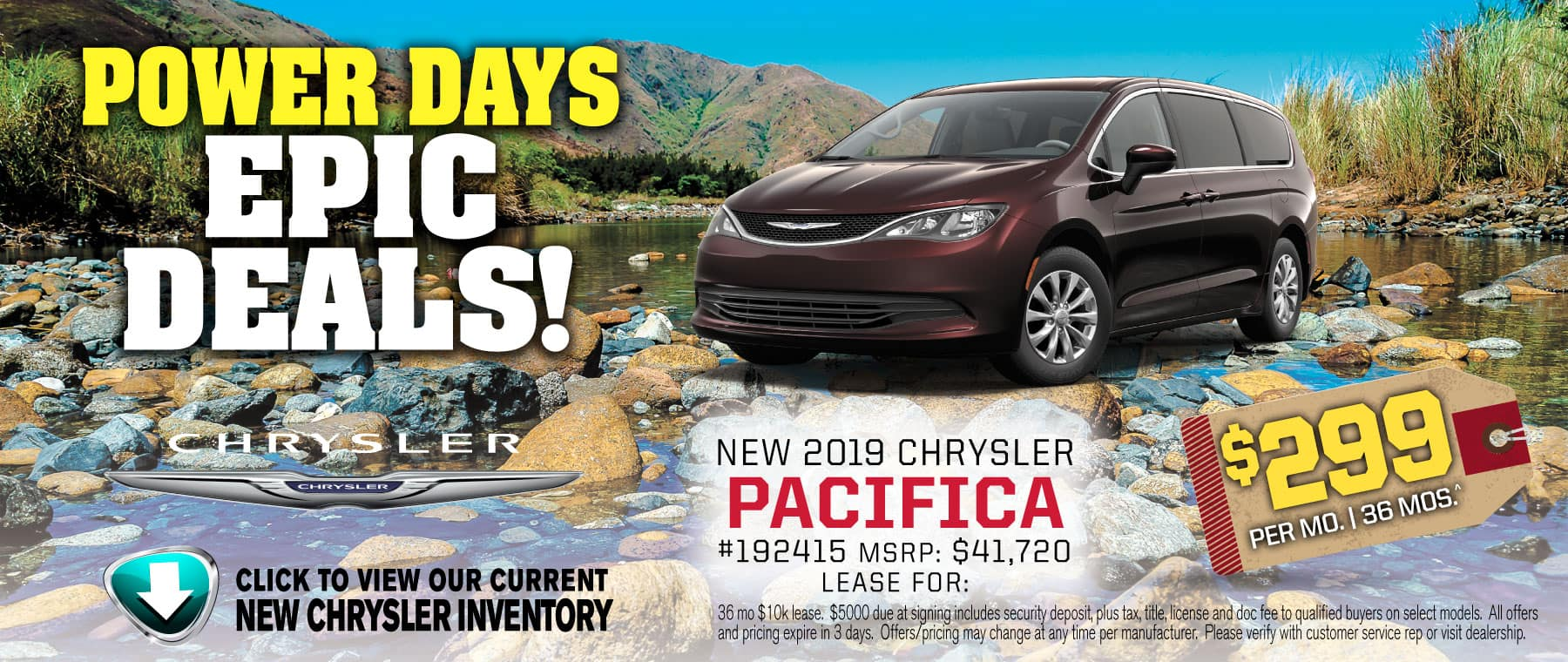 power days pacifica