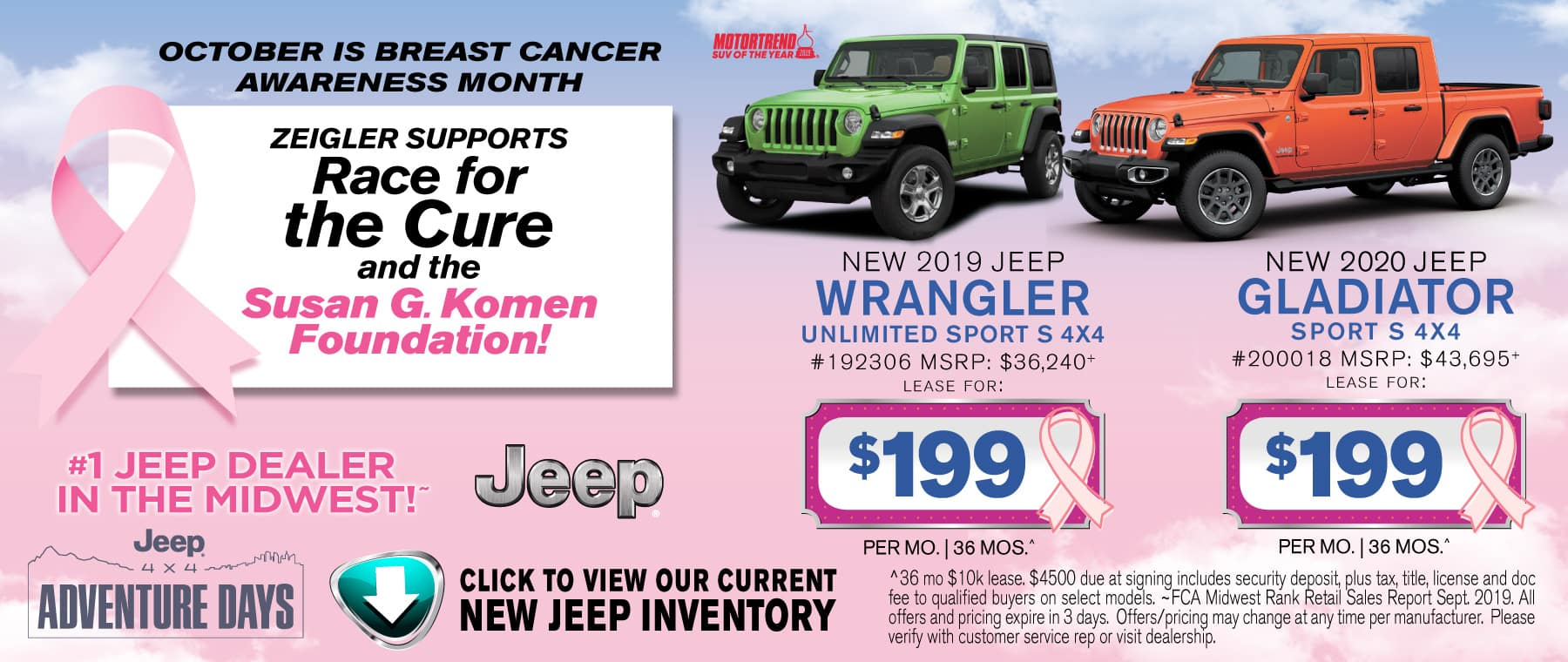 Breast Cancer Wrangler Gladiator