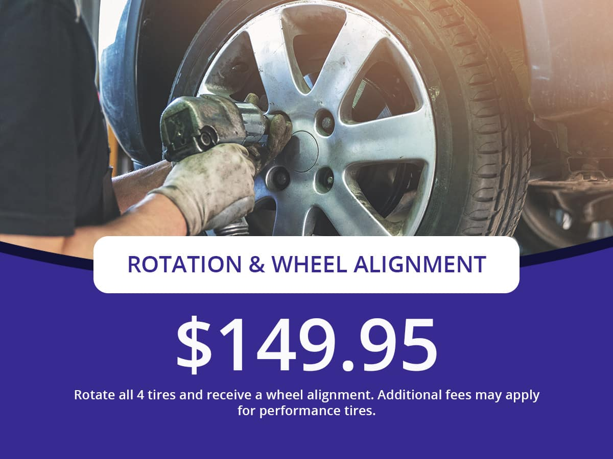 Rotation Wheel Alignment Special